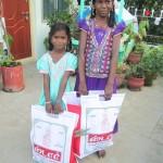 Rosy et Saraswathi - sara india octobre 2014